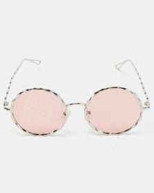 Joy Collectables Vintage Sunglasses Pink Lense
