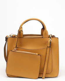 New Look Unlined Pouch & Body Bag Light Brown