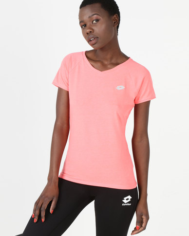 Lotto Indy V Tee STC W Pink
