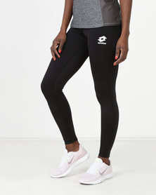 Lotto Smart Leggings PL W Black