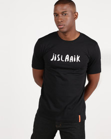 Vents Brull Jislaaik T-Shirt Black