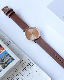 Escape Society Strap Watch Rose Gold/Rose Pink