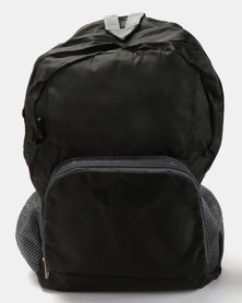Escape Society Outdoor Nylon Backpack Black