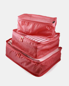 Escape Society Packing Cube Dusty Red
