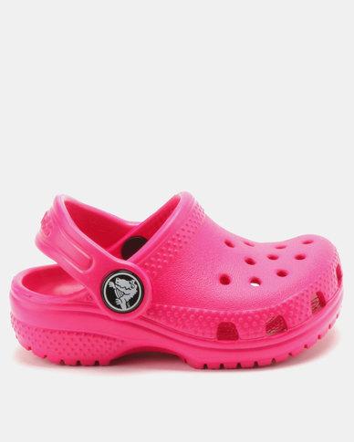 ad12a2ca3e3 Crocs Classic Clogs K Candy Pink