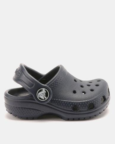 a106c3b44 Crocs Kids Classic Clogs Navy