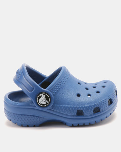39640a5b6976c Crocs Kids Classic Clogs Blue Jean