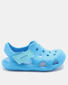 Crocs Kids Swiftwater Wave Shoes Ocean