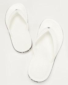 Crocs Crocband Flip Flops White