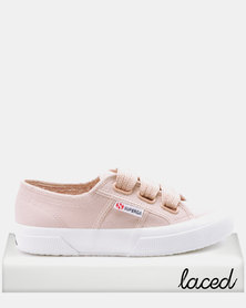 Superga Classic Canvas Big Lace Sneakers Pink Skin
