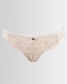 Wonderbra Vintage Thong Wheat
