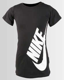 Nike Girls NSW Dress T-Shirt Black