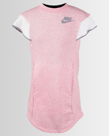 Nike Girl's NSW Dress PE Pink Heather