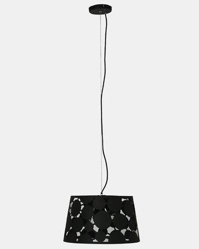 Illumina Sophia Laser Cut Pendant Black