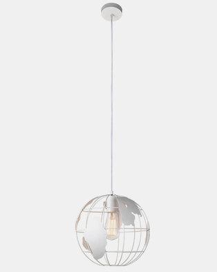 Illumina World Globe Pendant White