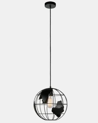 Illumina World Globe Pendant Black