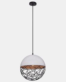 Illumina Manhattan Basket Pendant White