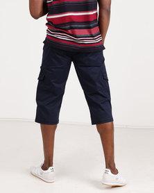 JCrew Clamdigger Shorts Navy