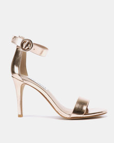 Steve Madden Born Heels Rose Gold