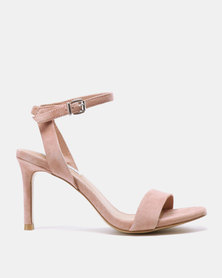 Steve Madden Faith Heels Blush Suede