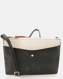 Call It Spring Giran Cross Body Bag Black Multi