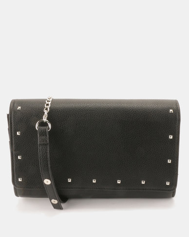 Call It Spring Legalilia Clutch Bag Black