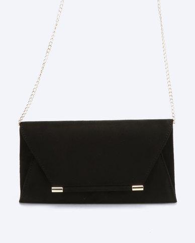 Call It Spring Etecia Clutch Bag Black
