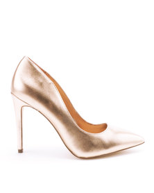 Call It Spring Mykel Heels Rose Gold