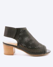 Call It Spring Adalidia Block Heels Black
