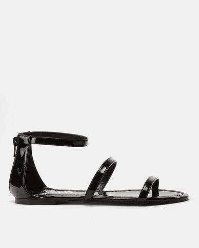 Utopia Minimalist Sandals Black