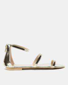 Utopia Minimalist Sandals Gold