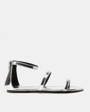 Utopia Minimalist Sandals Silver