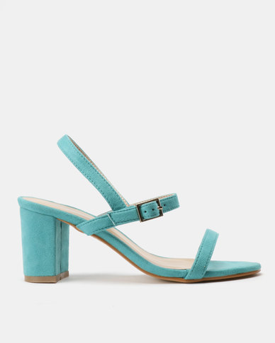 Utopia Minimalist Heel Sandals Green