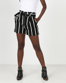 Sissy Boy Stripe Short Black/White