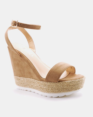 323318e81266e Utopia Espadrille Wedge Sandals Beige