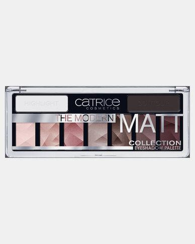 Catrice The Modern Matt Eyeshadow Palette 010