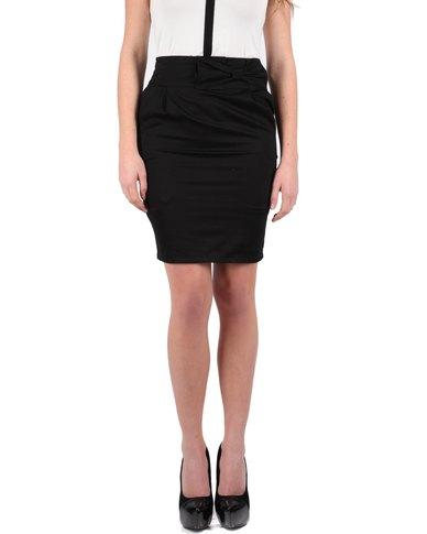 Passage Bow Detail Pencil Skirt Black