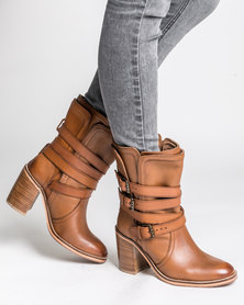 Jeffrey Campbell Oxford Tan Distressed