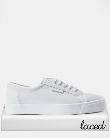 fd20a1b54dd0 Superga Tennis Classic Nappa Leather Sneakers Total White