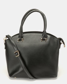 Vikson Structured Handbag Black