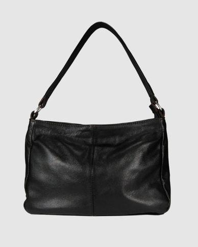80baaf79e198 Icon Leather Shoulder Handbag Brown | Zando