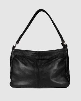 d35257af01b9 Icon Leather Shoulder Handbag Brown