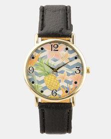 Utopia Tropical Watch Black