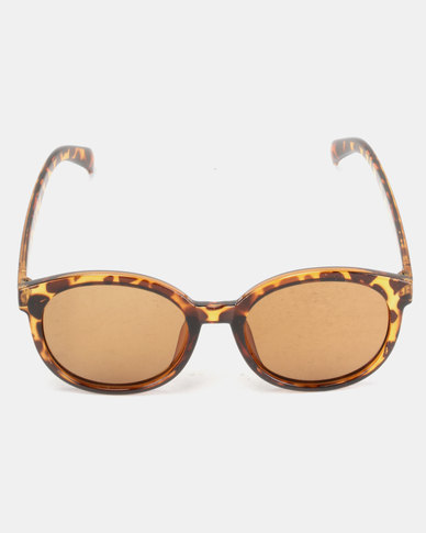Utopia Big Frame Sunglasses Leopard