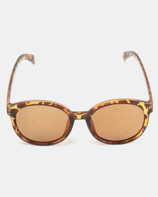 ad9a7d7c98 Utopia Big Frame Sunglasses Leopard