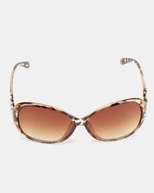 Utopia Statement Infinity Sunglasses Leopard