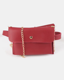 Utopia Envelope Crossbody Red