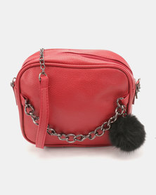 Utopia Chain Bag Red