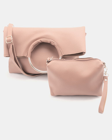 Utopia Foldover Ring Bag Pink