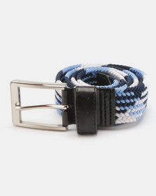 JCrew Stretch Belt Blue